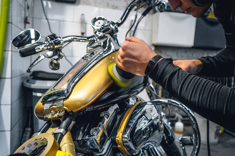 мойка и химчистка мотоцикла