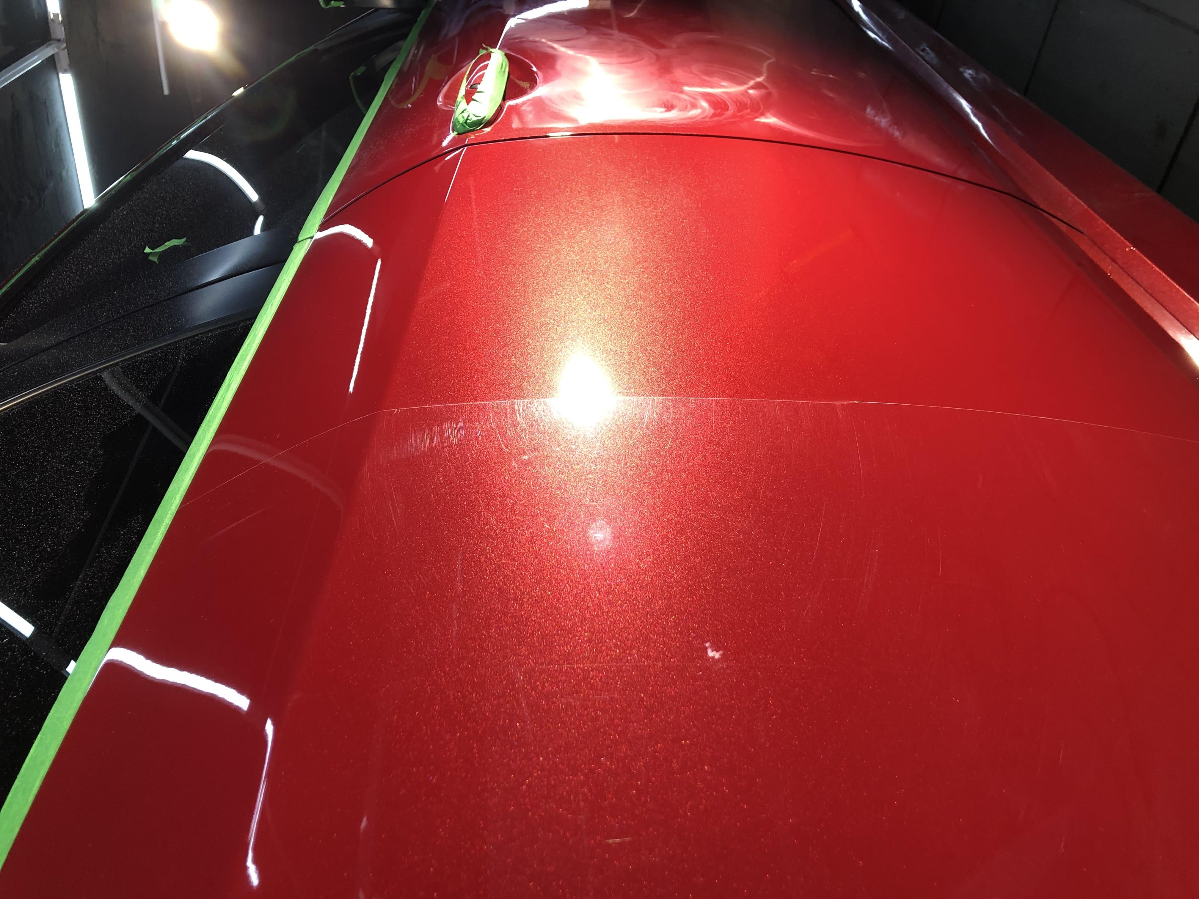 полировка автомобиля премиум класса